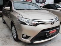 Bán Toyota Vios 1.5G 2015, xe số tự động, màu nâu vàng, giá tốt dành cho kh liên hệ sớm nhất