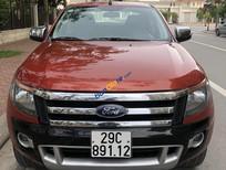 Cần bán xe Ford Ranger Base 2.2 MT 4x4 năm sản xuất 2014, màu đỏ, xe nhập, giá chỉ 455 triệu