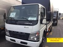 Bán xe tải Mitsubishi Fuso 1.8 tấn, xe tải Canter 4.7 thùng mui bạt chạy thành phố