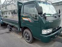 Xe tải Thaco Kia Frontier K165 Mui bạt / Thùng kín 2T4 (2 tấn 4) màu xanh (giá chưa giấy tờ)