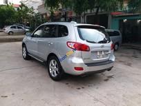 Cần bán gấp Hyundai Santa Fe 2009, màu bạc, xe nhập chính chủ