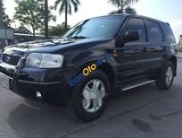 Bán Ford Escape năm sản xuất 2003, màu đen, giá tốt