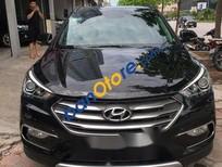Cần bán Hyundai Santa Fe 2.2L 4WD năm 2016, màu đen, giá tốt