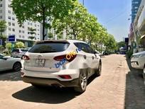 Bán ô tô Hyundai Santa Fe 2.2 AT đời 2017, màu trắng, giá tốt