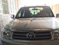 Bán Toyota Fortuner 2.5G đời 2010, màu bạc số sàn