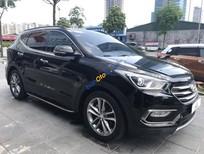 Cần bán xe Hyundai Santa Fe 2.2L 4WD năm 2016, màu đen