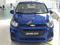 Bán ô tô Chevrolet Spark VAN năm sản xuất 2018, màu xanh lam giá cạnh tranh