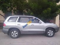 Cần bán lại xe Hyundai Santa Fe Gold sản xuất 2005, màu bạc như mới