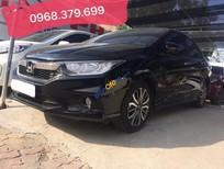 Bán xe Honda City 1.5 năm 2017, màu đen như mới, giá chỉ 569 triệu