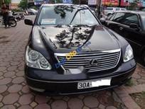 Bán Lexus LS 430 sản xuất 2004, màu đen, giá chỉ 695 triệu