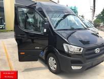 MINI BUS THACO: dòng xe mini bus 16 chỗ SOLATI (H350) 2017 mới.