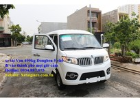 Đại lý bán xe tải van dongben 490kg 5 chỗ ngồi đi vào thành phố mọi giờ cấm tải