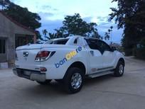 Bán Mazda BT 50 đời 2013, màu trắng, giá 450tr