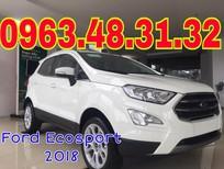 Tư vấn mua bán xe Ford Ecosport mới 2018 tại Lào Cai, hỗ trợ trả góp, giá xe thương lượng