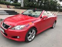 Bán Lexus IS 2010, màu đỏ, nhập khẩu như mới