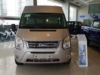 Bán Ford Transit Luxury sản xuất năm 2018, màu bạc