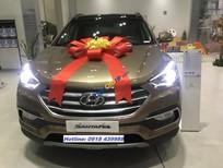 Bán Hyundai Santa Fe 2018 bản đặc biệt, sở hữu ngay chỉ với 250tr, đủ màu giao ngay - LH 0918439988