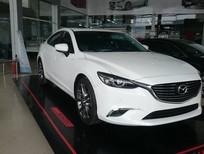 Bán Mazda 6 2.0 Premium 2019, màu trắng, ưu đãi lên đến 35 triệu tại Hà Nội