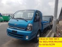 Bán xe tải Kia K165 thùng lửng, xe tải K165 new 2018 2t4 thùng lửng
