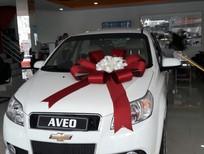 Bán xe Chevrolet Aveo MT 1.4 2018, màu trắng, giá chỉ 459 triệu - KM thêm 60 triệu