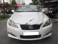 Bán Lexus IS 250C năm sản xuất 2009, màu trắng, xe đăng ký lần đầu 2010, nội thất kem