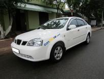 Bán Daewoo Lacetti EX sản xuất năm 2004, màu trắng, giá 187tr