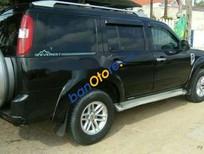 Bán ô tô Ford Everest MT năm sản xuất 2009, màu đen
