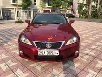 Bán xe Lexus IS 250C năm sản xuất 2010, màu đỏ, nhập khẩu nguyên chiếc