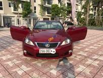 Bán Lexus IS250C nhập Nhật nguyên chiếc sản xuất 2010, đăng ký 2011