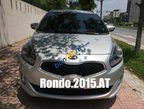 Bán Kia Rondo 1.7L máy dầu Eco rất tiết kiệm, số tự động, màu ghi bạc, Sx T12/2015