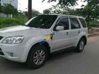 Gia đình cần bán ô tô Ford Escape 4x2AT 2012, màu trắng