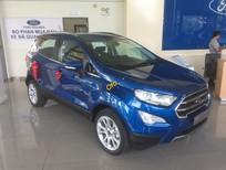 Bán ô tô Ford EcoSport Ecoboost 1.0 đời 2018, màu xanh lam