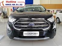Cần bán xe Ford EcoSport Titanium 1.5L sản xuất 2018, màu đen