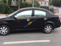 Bán xe Daewoo Gentra SX sản xuất năm 2008, màu đen như mới, giá tốt