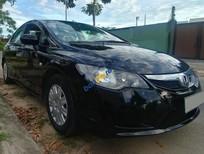 Cần bán lại xe Honda Civic 1.8 MT sản xuất 2012, màu đen, 385tr