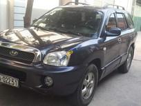 Bán xe Hyundai Santa Fe Gold đời 2004, màu xám, nhập khẩu nguyên chiếc chính chủ