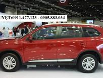 Bán xe Mitsubishi Outlander mới 2018, màu đỏ, có xe giao ngay, góp 90% xe, LH Lê Nguyệt 0911477123