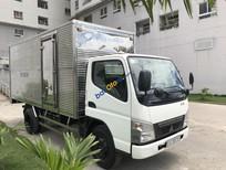 Cần bán xe Mitsubishi Canter 4.7LW 1.6 tấn đời 2015, màu trắng xe trùm mền