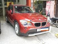 Bán BMW X1 sDrive18i 2010, màu đỏ, xe nhập chính chủ, 620 triệu