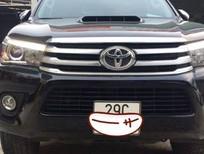 Bán xe Toyota Hilux năm 2016, màu đen, nhập khẩu chính hãng