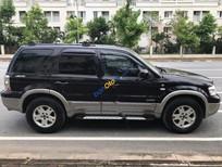 Bán xe Ford Escape XLT 3.0 AT năm sản xuất 2008, màu đen chính chủ