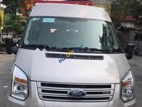 Bán Ford Transit Standard MID năm 2017, màu bạc, giá tốt