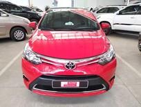 Bán Toyota Vios G 2014, màu đỏ, số tự động, xe gia đình đi ít, phụ kiện nhiều, xe đẹp giá thương lượng