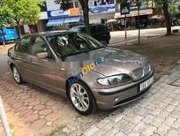 Bán BMW 3 Series 318i năm sản xuất 2003, màu nâu, xe nguyên bản máy số tốt