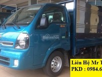 Bán ô tô Kia Frontier K200 2018 tải 1 tấn vào phố, màu xanh lam, đủ các loại thùng liên hệ 0984694366