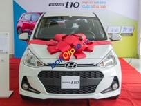 Bán xe Hyundai Grand i10 1.2 MT Base năm 2018, màu trắng, giá tốt