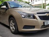 Cần bán gấp Chevrolet Cruze 1.6 MT đời 2011, màu ghi vàng