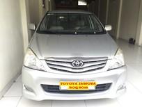 Cần bán lại xe Toyota Innova G 2011, màu bạc, giá 480tr