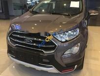 Cần bán xe Ford EcoSport 1.5L AT Titanium 2018, màu nâu, giá 648tr