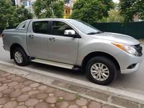 Cần bán Mazda BT 50 3.2 AT 2 cầu điện 2014, màu bạc, nhập khẩu xe cực đẹp
